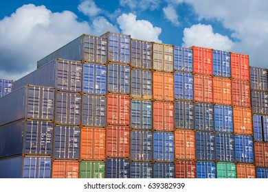 container for shipping import export goods.