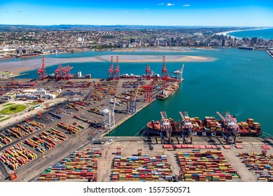 Container Terminal in the Durban Harbour