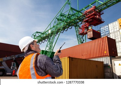 container terminal with Manager ,worker,