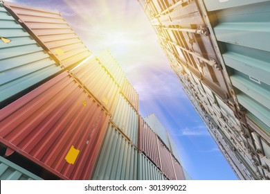 Container transport terminals