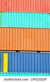 containers, port of Genoa, Italy