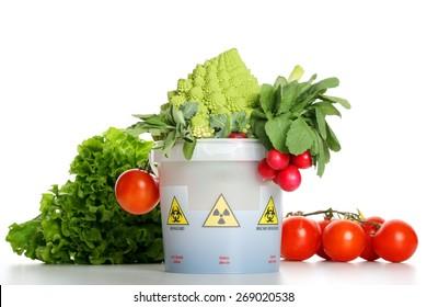 contaminated vegetables
