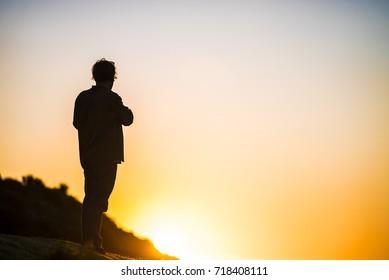 Contemplating the Sunrise