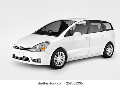 Contemporary Car Elegance Vehicle Transportation Luxury Performance Concept