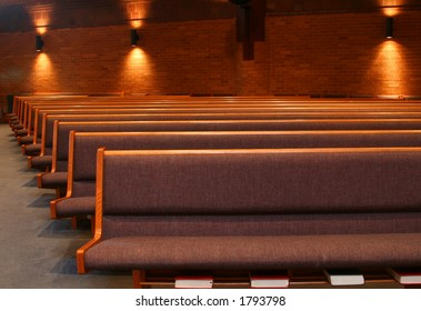 Contemporary Church Pews