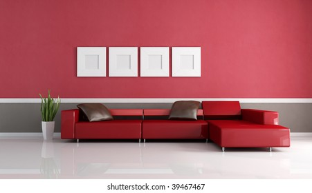 Living Room Pop Art Style Image Stock Illustration 41321356 ...