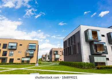 Contemporary eco friendly residential architecture in Ljubljana, Slovenia, Europe.