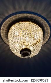 Contemporary glass chandelie