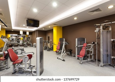 Gym Interior Images Stock Photos Amp Vectors Shutterstock