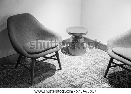 Awe Inspiring Contemporary Lounge Chairs Small End Table Stock Photo Edit Andrewgaddart Wooden Chair Designs For Living Room Andrewgaddartcom