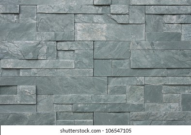 Contemporary and Luxury style marble brick wall pattern background