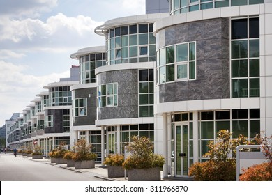 contemporary office building. Contemporary Office Buildings In A Row Building C