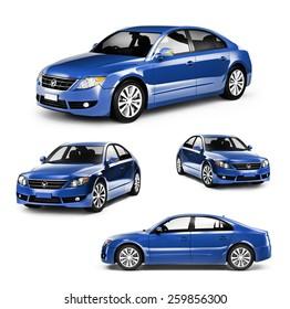 Contemporary Shiny Luxury Transportation Performance Concept