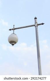 Contemporary street lamp