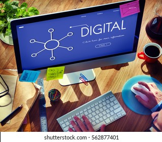 Content Communication Connected Analysis Digital
