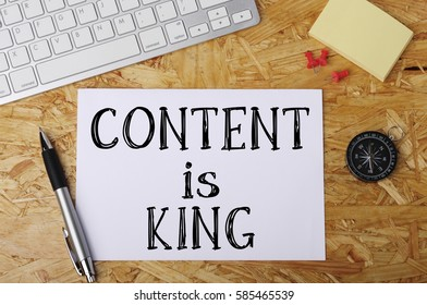 """""""Content is King"""" Word on Office Workplace"""