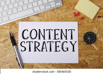 """""""Content Strategy"""" Word on Office Workplace"""