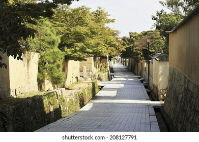 The Continued Alley Of Stone Wall