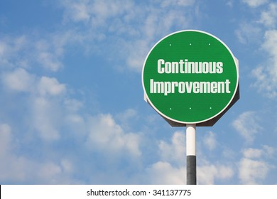Continuous Improvement Sign