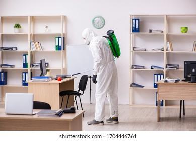 Desinfektionsbüro für COVID-19