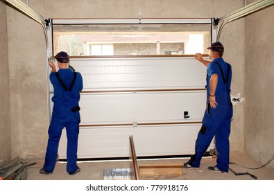 Contractors Installing, Repair, Insulating Garage Door. Garage door seal, garage door replacement, garage door repair.