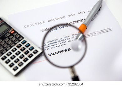 contracts and loans