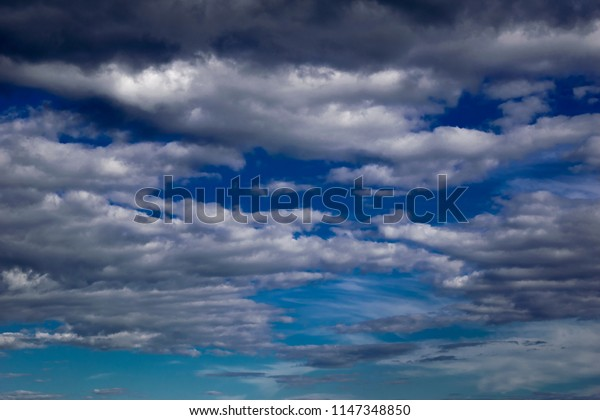 Contrasted Storm Clouds