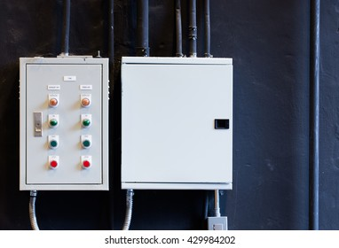 Control Cabinet in restaurant