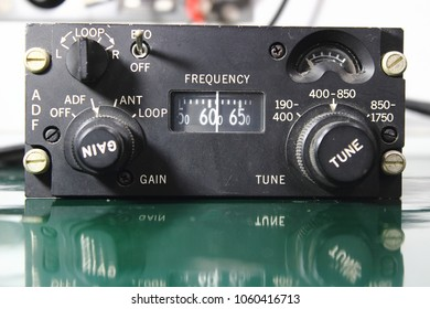 Control Direction Finder , Control unit of ADF receiver , Navigation system ,Avionics equipment with maintenance.