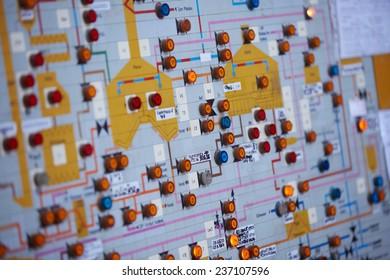 Control lights panel