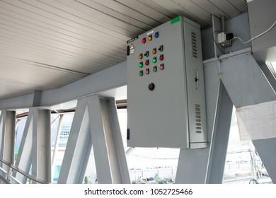control panel on the bridge