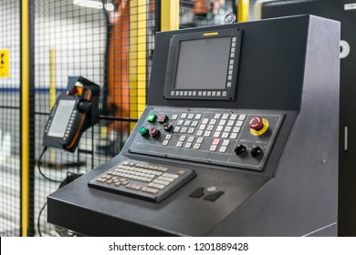 Control panel for sheet metalworking cnc turret punch press