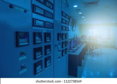 Control room area.