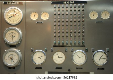 Control room of a nuclear power plant