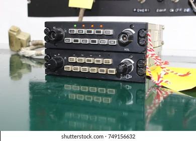 Control unit of Avionics System ,Avionics equipment in aircraft with maintenance.