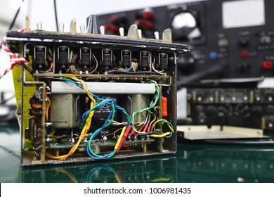 Control unit of Avionics system with maintenance ,Communication system ,Avionics equipment .