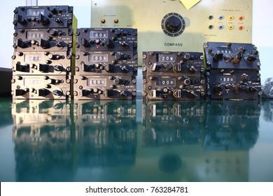 Control unit of Avionics System with maintenance, Navigation system ,Avionics equipment in aircraft.