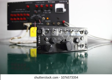 Control unit ,Communication System , Avionics equipment in aircraft with maintenance.
