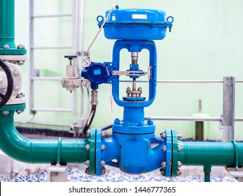 Control valve for control flow and pressure of process condition such water, steam and gas which popular apply to install in industrial, power plant, oil and gas with closed up.