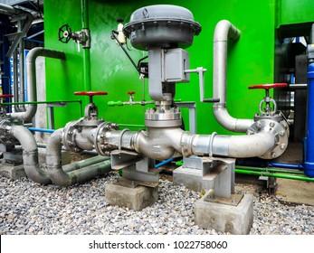 Control valve in power plant.