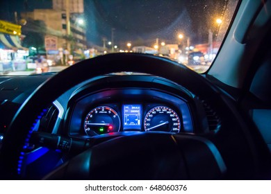control wheel  back  Night