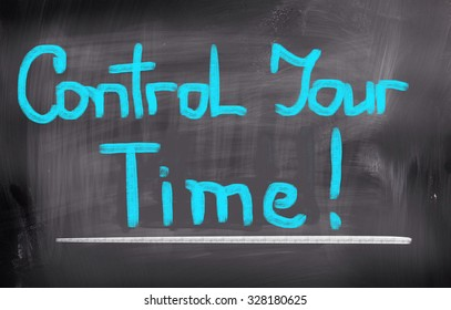 Control Your Time Concept