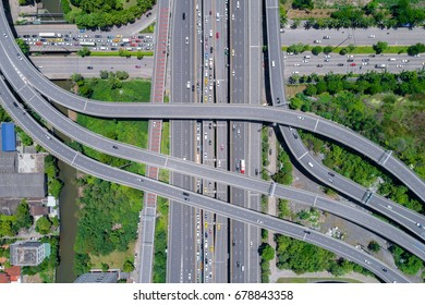 Controlled-access highway, the highest-grade type of highway with access ramps, lane dividers, etc., for high-speed traffic