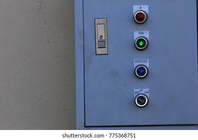 Controller circuit on the wall
