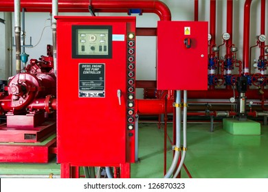 Controller of water sprinkler and fire fighting system