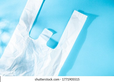 Convenience store and supermarket shopping bags. Japanese plastic shopping bags.