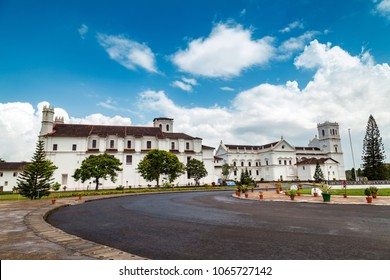 Convent and Church of St. Francis of Assisi - Roman Catholic church situated in main square of Old Goa. India.