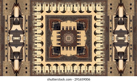 Convent of San Juan of Penance in Toledo, Castilla la Mancha, Spain, kaleidoscopic, creative photographs of Toledo, Toledo Religious buildings