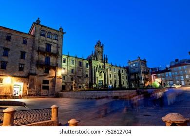 Convent of San Martino Pinario, Santiago de Compostela, Galicia, Spain