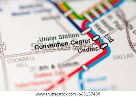 Dallas Convention Center Map on